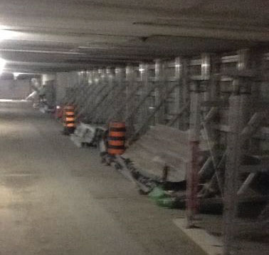 24,000 Square Feet of Underground Parking Repair
