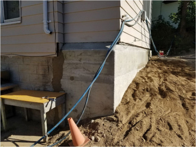 Installing Underground Services in a tight laneway